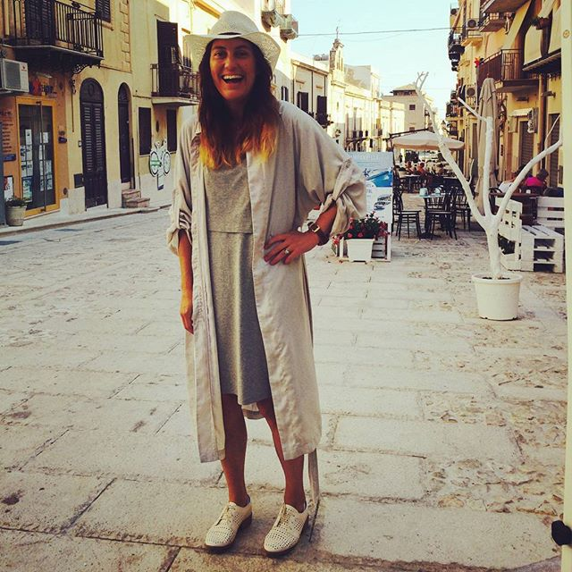 IN THE STREETS OF CASTELLAMMARE DEL GOLFO wearing shades of grey! #shadesofgrey #zalandostyle #iamready #sicily #vacation