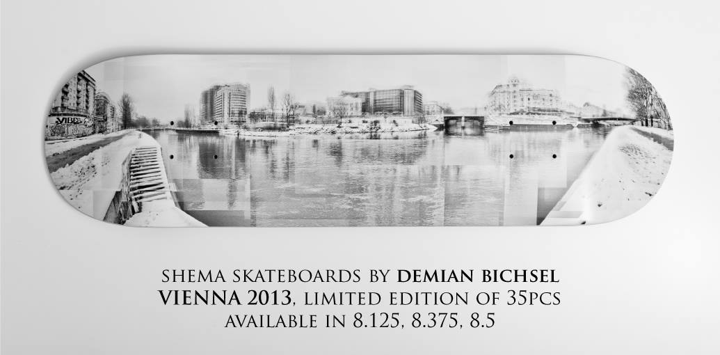 SHEMA skateboards by DEMIAN BICHSEL