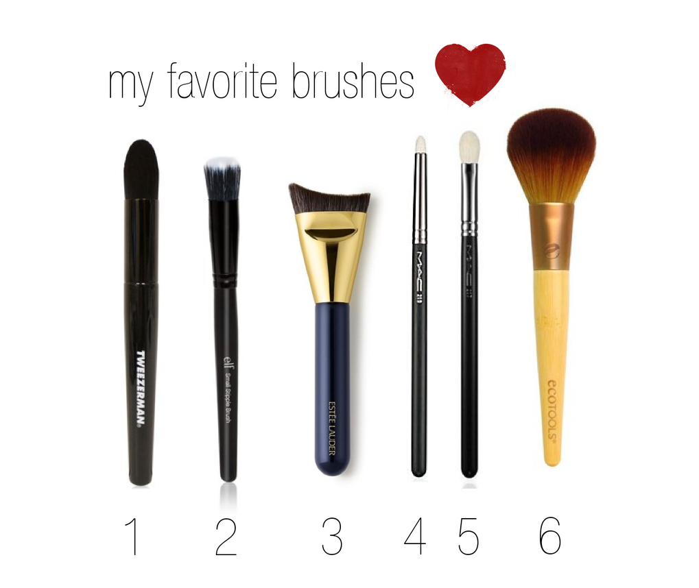 my favorite brushes