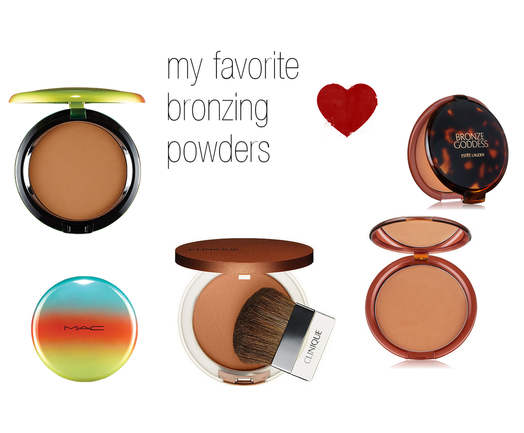 my favorite bronzing powders
