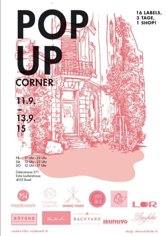 POP UP CORNER