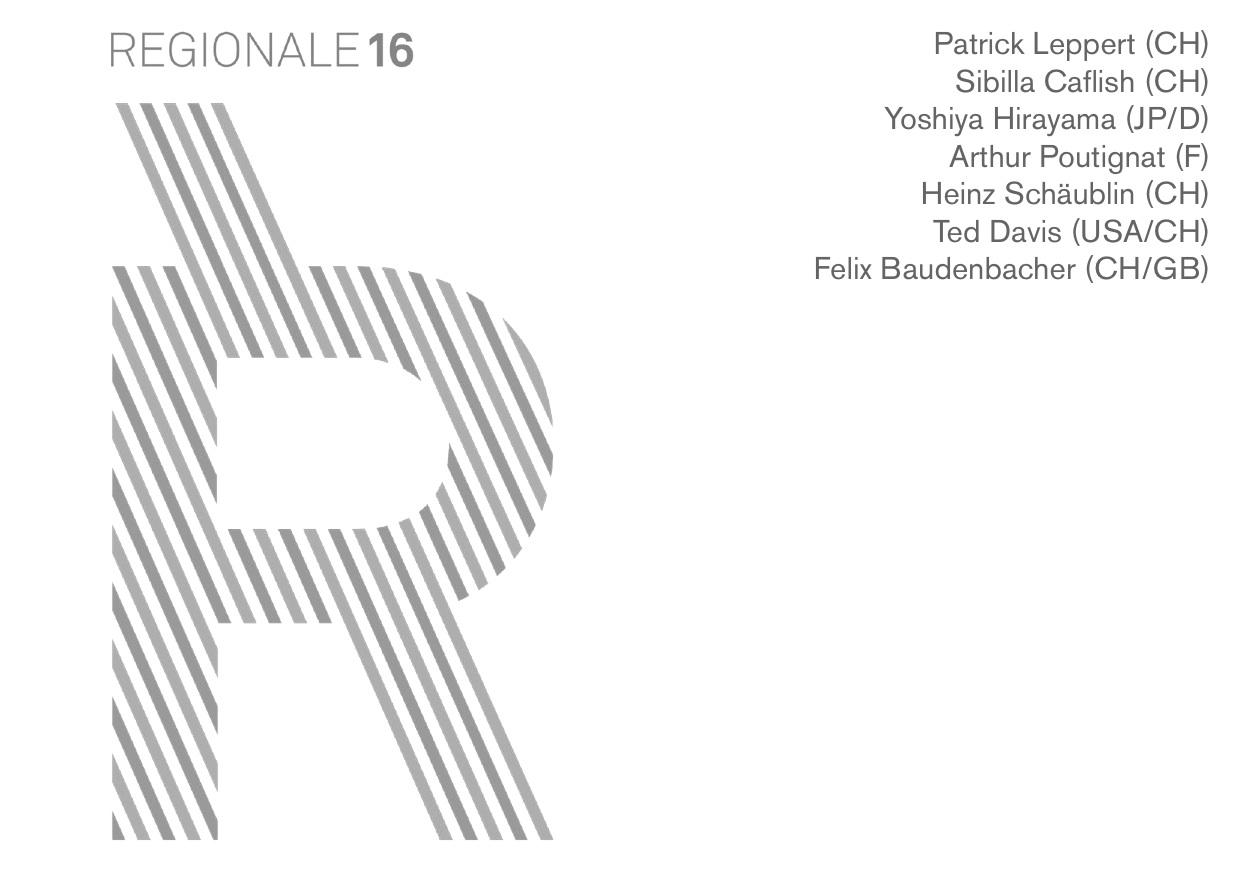 Flyer Kunstraum Florenz Regionale