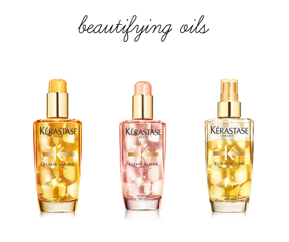 beautifying oils