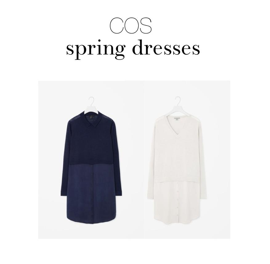 COS spring dresses