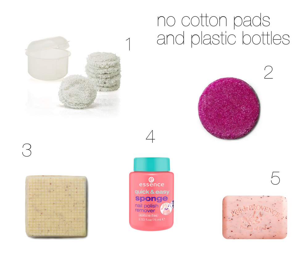 no cotton pads and less plastic
