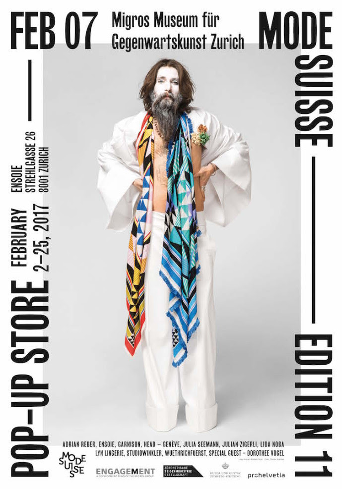 MODE SUISSE edition 11 - swiss fashion design