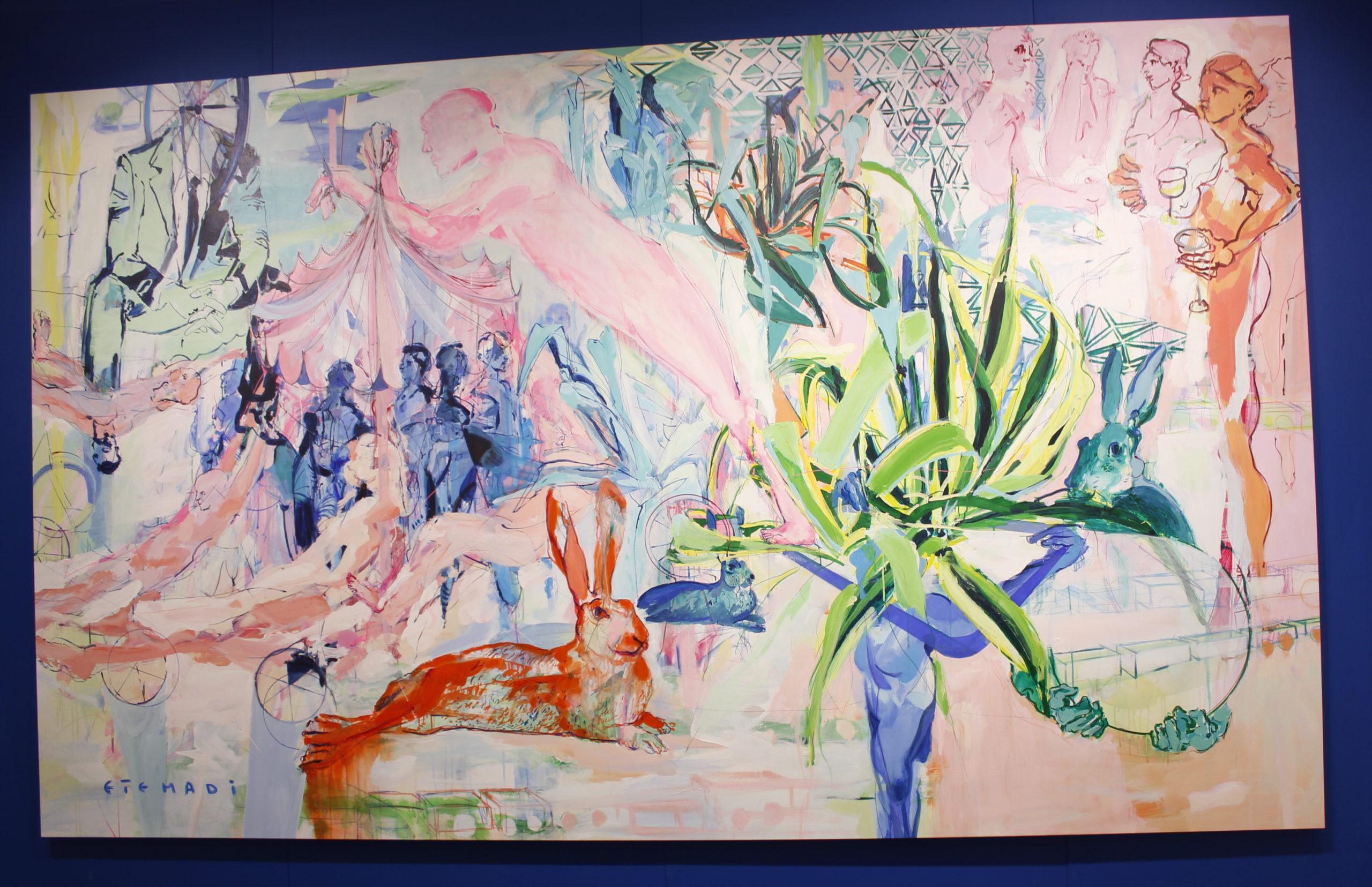 Art Basel Week Elham Etemadi
